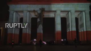 Germany: Brandenburg Gate lights up with German flag after lorry attack kills 12 | Ruptly TV