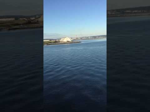 View of ocean St. John Canada