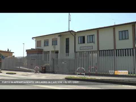 FURTO IN APPARTAMENTO: UN LADRO IN CARCERE   15/07/2021