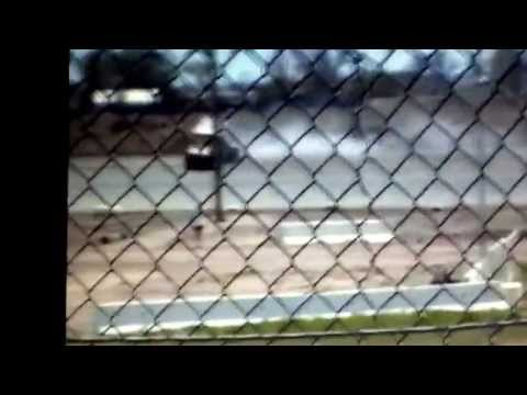Josh Flood hot lapping at I-76 speedway