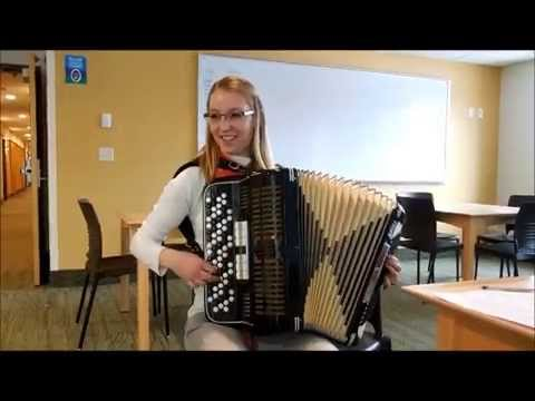 Pop music meets accordion