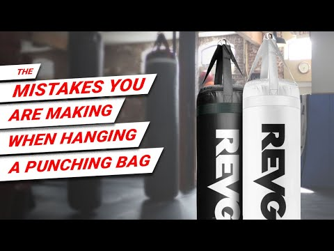 The Mistake You Are Making When Hanging A Punching Bag Or Heavy Bag.
