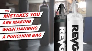 The Mistake You are Making When Hanging a Punching Bag or Heavy Bag