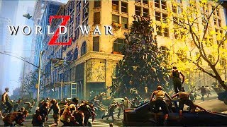 WORLD WAR Z: All Official Gameplay Trailer