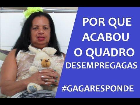 POR QUE ACABOU O DESEMPREGAGAS ? #GAGARESPONDE2 - CANAL DA GAGA