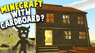 MINECRAFT WITH CARDBOARD BOXES? NEW SURVIVAL GAME! | Card Life Gameplay Part 1
