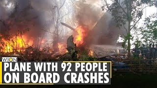 Philippine: Plane with 92 people on board crashes