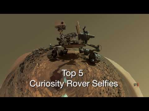 ∆ Top 5 Mars Curiosity Rover selfies