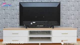 SONY BRAVIA W652D | BEST QUALITY LED TV | COMPUTER SQUADRON