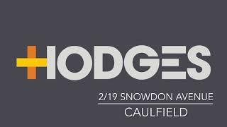 2/19 Snowdon Avenue, Caulfield