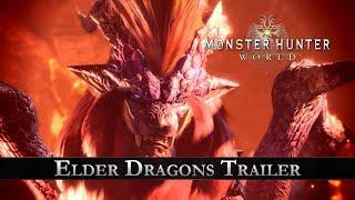 Monster Hunter: World - Elder Dragons Trailer thumbnail