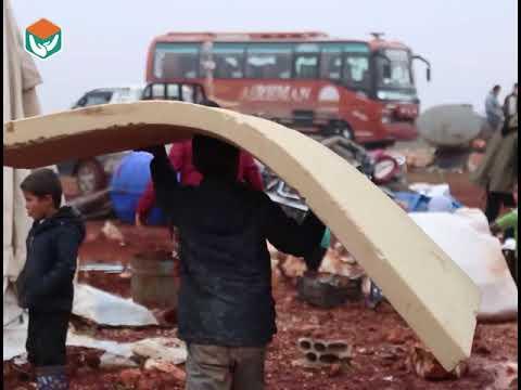 نقل الاخ ابو عبد المعين الى المخيم المخدم