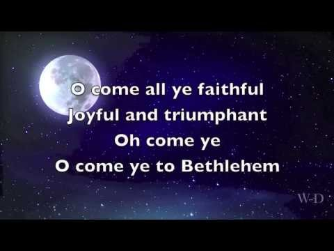 O Come All Ye Faithful MP3 Backing Track Download