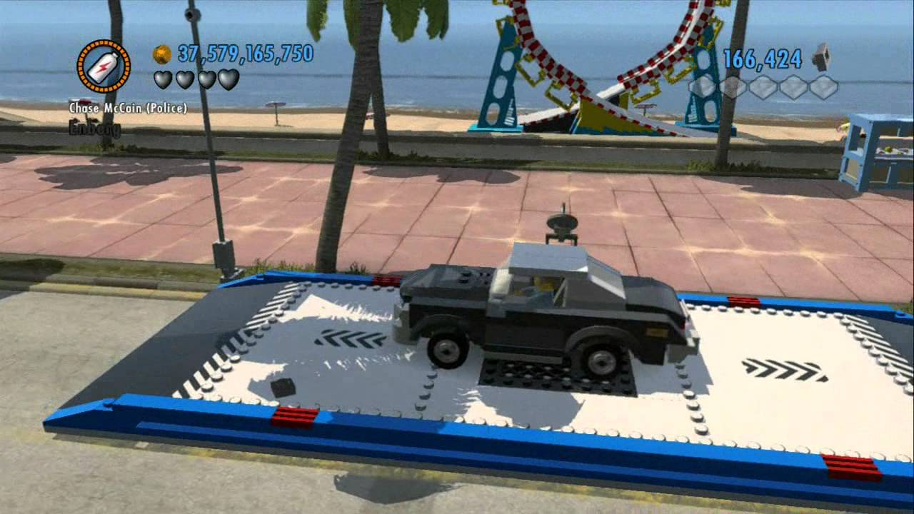 Lego City Undercover 3ds The Chase Begins All Vehicles Unlocked 100 Complete Youtube