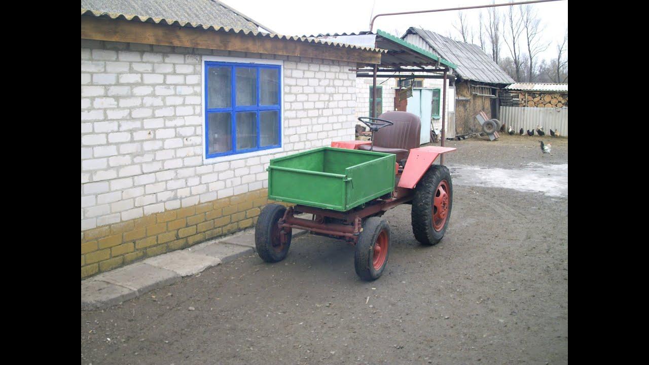 Самодельный минитрактор Т16 мини | Homemade mini tractor