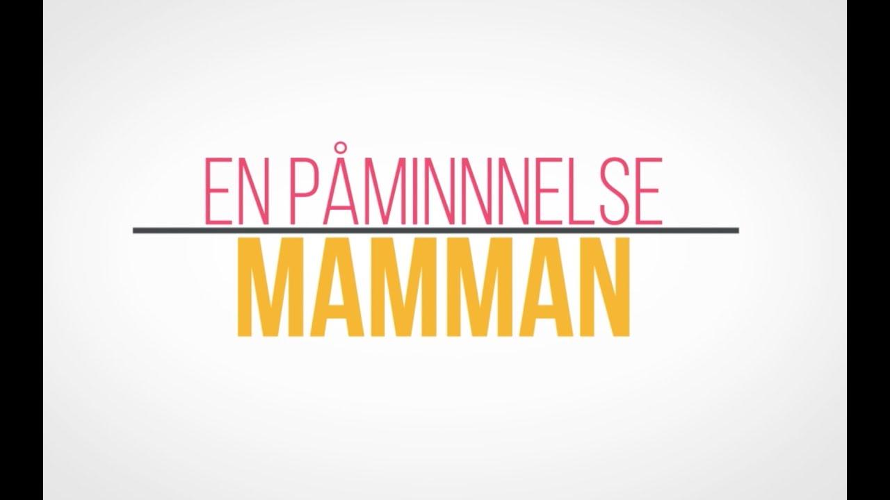 Mamma || Typografi