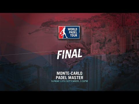 LIVE (ENGLISH)  | FINALS Montecarlo Master | World Padel Tour 2015