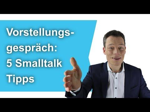 Vorstellungsgespräch: Fünf Smalltalk-Tipps. Begrüßung, beenden: Knigge, Körpersprache //M. Wehrle