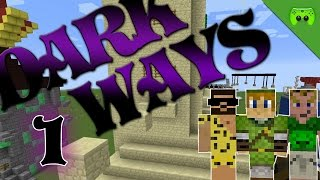 MINECRAFT Adventure Map # 1 - Dark Ways «» Let's Play Minecraft Together | HD