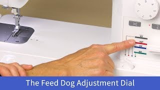 How to Adjust the Feed Dog on the Baby Lock Accomplish