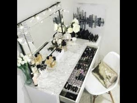 Marble top vanity  DIY - Home Decor