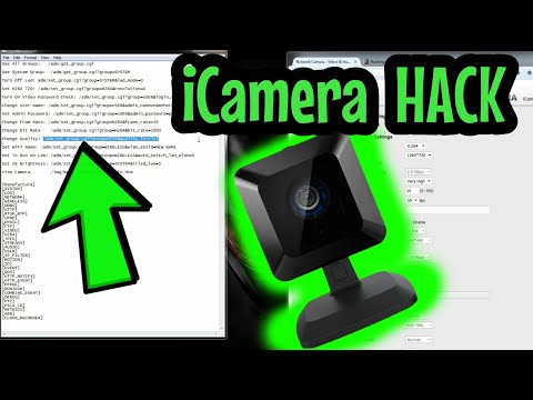 How to access iCamera1 or 1000 and iCamera2 when locked out SERCOMM