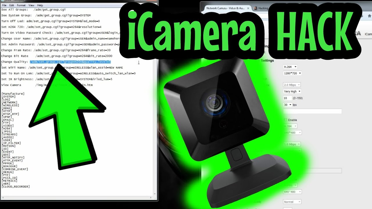 Wireless Network Wiring Diagram How To Access Icamera1 Or 1000 And Icamera2 When Locked