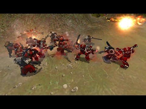 Expansion DLC 2021: Black Templars vs World Eaters - Warhammer 40K: Dawn Of War: Soulstorm |