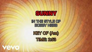 Bobby Hebb - Sunny (Karaoke)