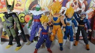 Unboxing Internacional Bonecos Dragon Ball Z (Todos)