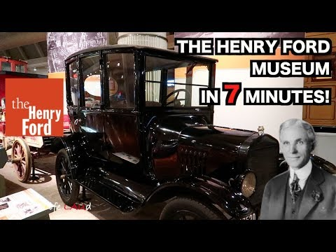 THE HENRY FORD MUSEUM IN 7 MINUTES!   Living Life LAUd