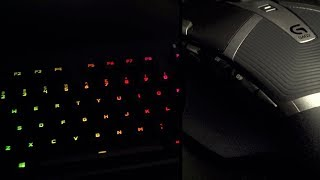 Logitech Gaming Keyboard and Mouse for Editing?