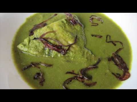 Pomfret Green Curry | Fish Green Masala | Fish Curry