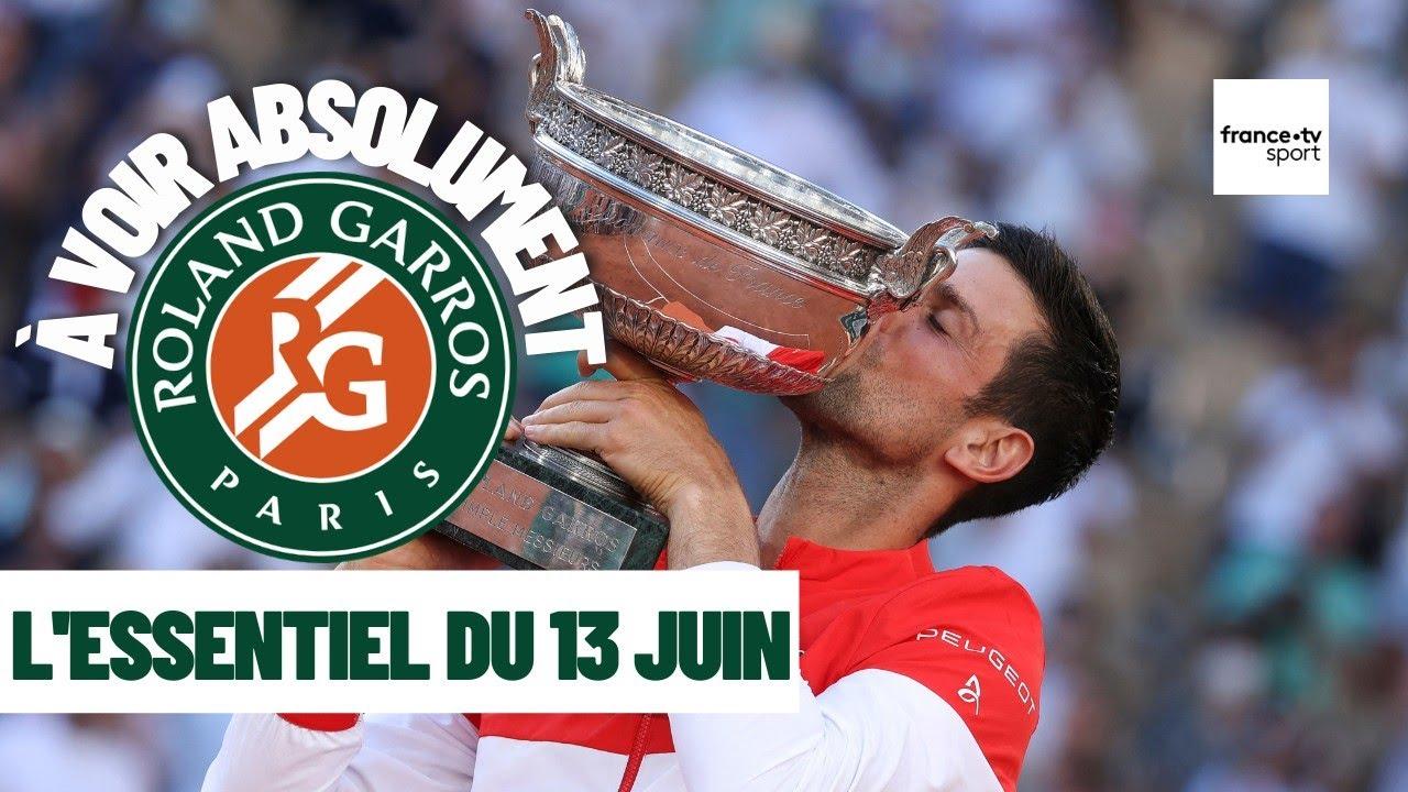 Roland-Garros 2021 : L'essentiel du 13 juin