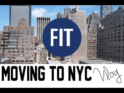 Moving to NYC vlog | Fashion Institute of Technology