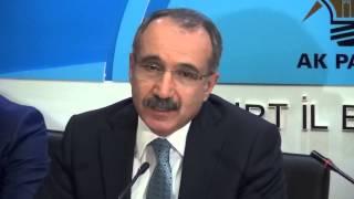 Eski Milli Eğitim Bakanı Ömer Dinçer Bayburt Ak Parti İl Başkanlığında Konuştu.