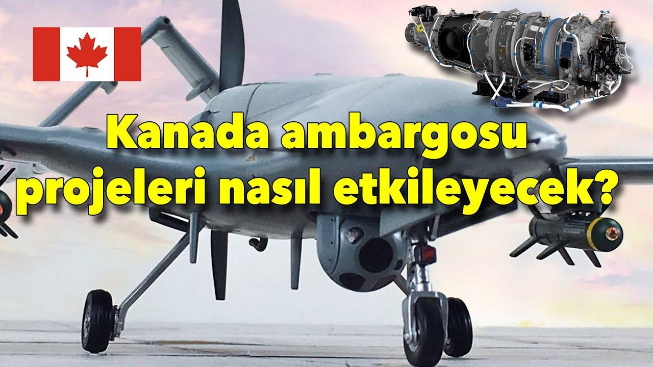 #tolgaözbek #bayraktar #anka #hürkuş Kanada ambargosu Savunma Sanayiini nasıl etkiler?
