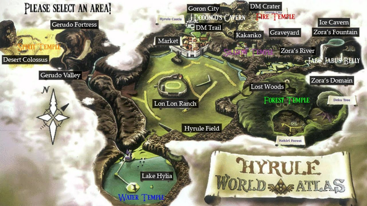 The legend of zelda ocarina of time interactive skulltula world map the legend of zelda ocarina of time interactive skulltula world map gumiabroncs Image collections