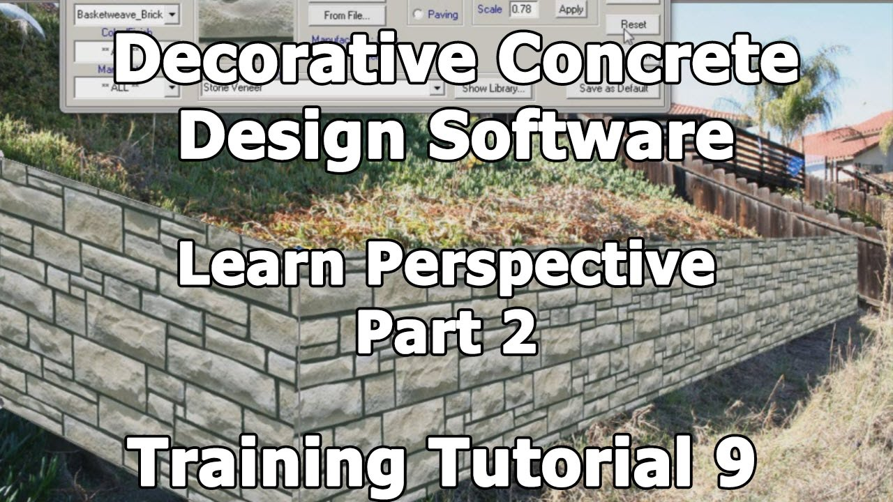 decorative concrete design training tutorial 9 how to create