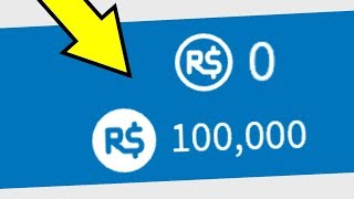 HOW TO TURN 0 ROBUX INTO 100K ON ROBLOX!