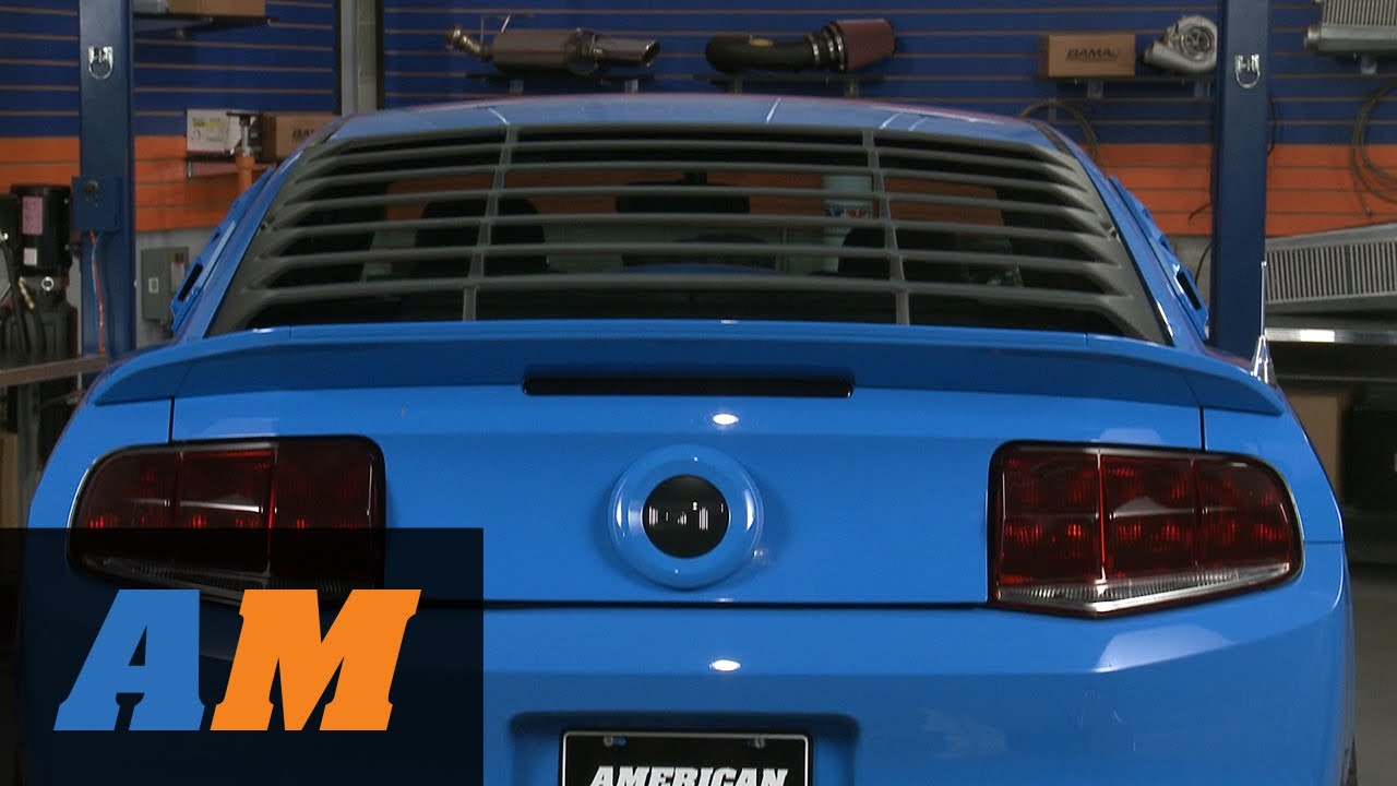 2017 Mustang Gt Premium >> Mustang MMD ABS Rear Window Louvers (05-14 All) Review - YouTube