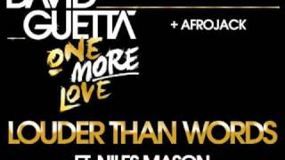 David Guetta & Afrojack - Louder Than Words