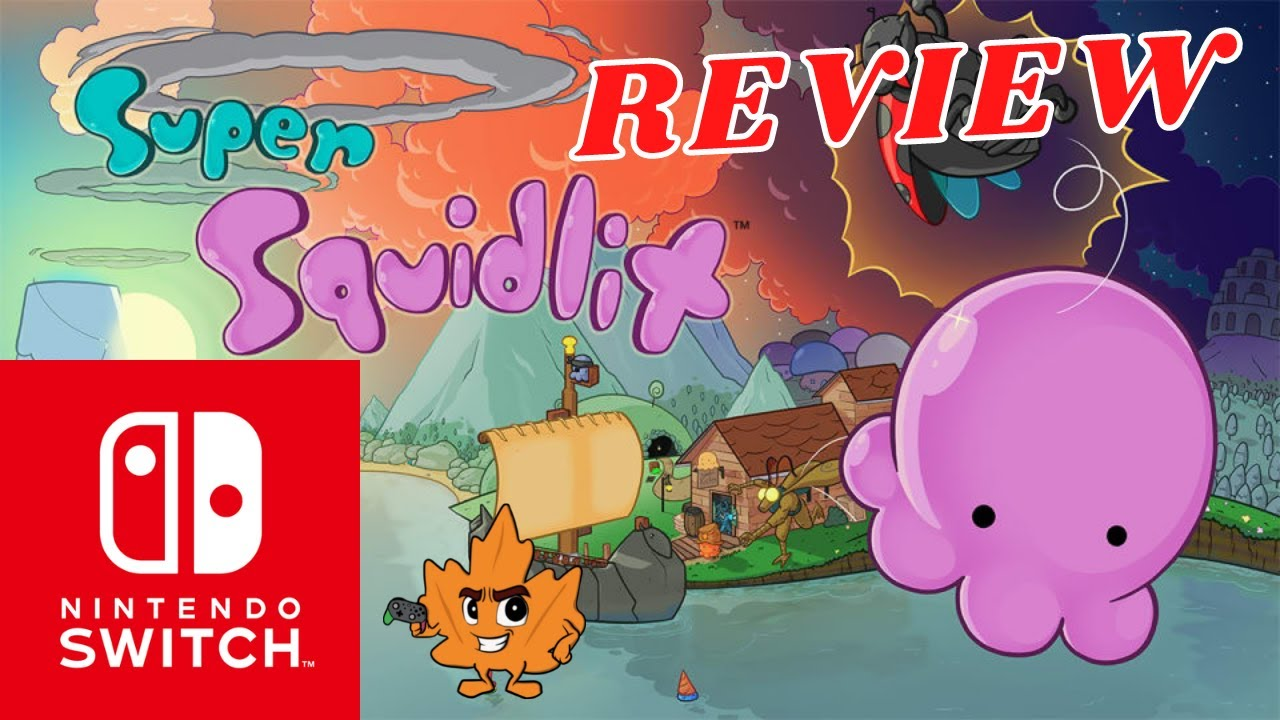 SUPER SQUIDLIT Review for Nintendo Switch | A Game Boy Color Love Letter?