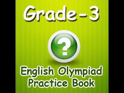 Grade 3 English Olympiad Interactive Quiz