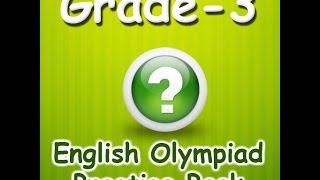 Grade 3 English Olympiad  Interactive Quiz