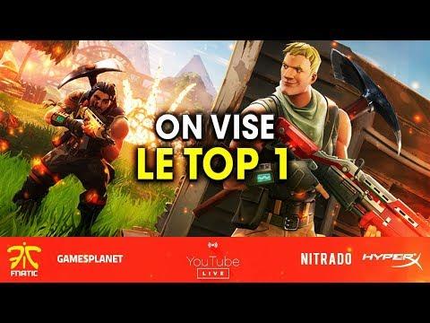 ON TENTE LE TOP 1 SUR FORTNITE ! #ROADTO200K