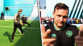 Can Marc Bircham, Sean Walsh and Will Greenwood win all £500 for the Pompey fans? | Soccer AM Pro AM