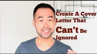 How To Write a Cover Letter That STANDS OUT!