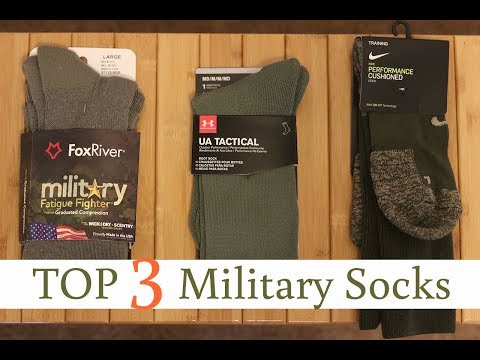 TOP 3 PAIRS OF MILITARY SOCKS!