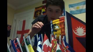 Flag Unboxing: Canadiana, Saint Lucia, Kazakhstan and more!